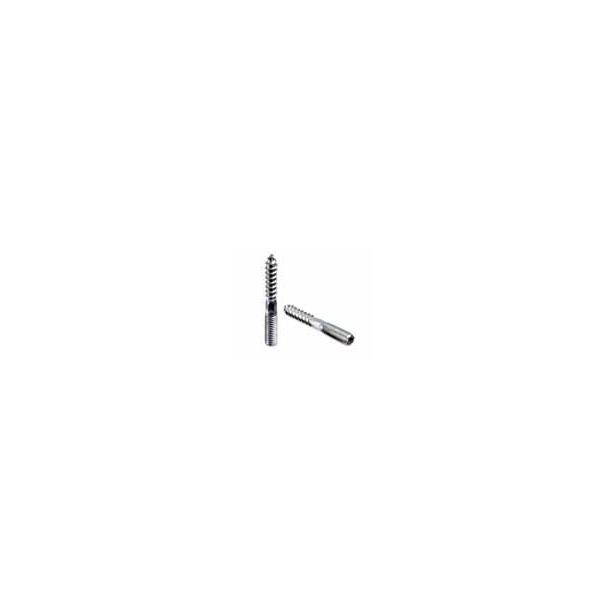 Bordskrue M8 rustfri stål