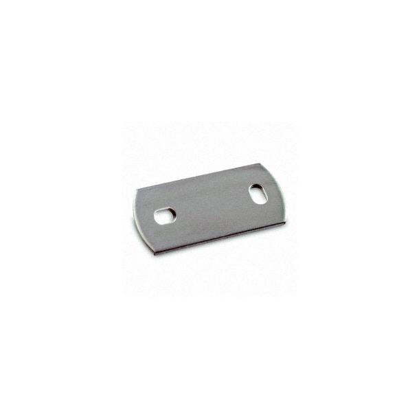 Ankerplade, boret 120x60x6mm,